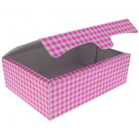 Gebäck Box pink 25,8x18,9x8cm 2Kg (125 Stück)