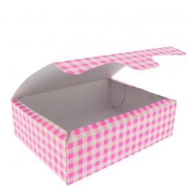 Gebäck Box pink 18,2x13,6x5,2cm 500g (25 Stück)