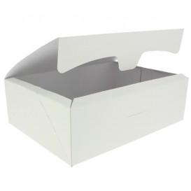 Gebäck Box weiß 25,8x18,9x8cm 2Kg (25 Stück)