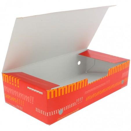 SnackBox mit Deckel To Go Groß 200x100x50mm (375 Stück)