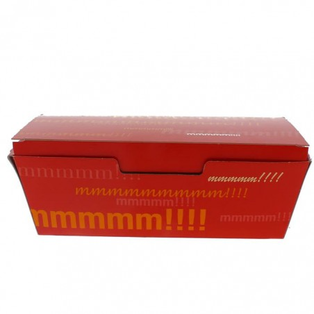 SnackBox mit Deckel To Go 16,5x7,5x6cm (25 Stück)