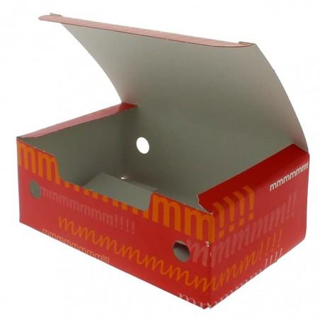 SnackBox mit Deckel To Go 115x72x43mm (25 Stück)
