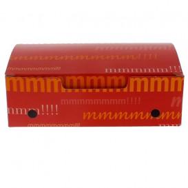 SnackBox mit Deckel To Go Mittlere 145x90x45mm (25 Stück)