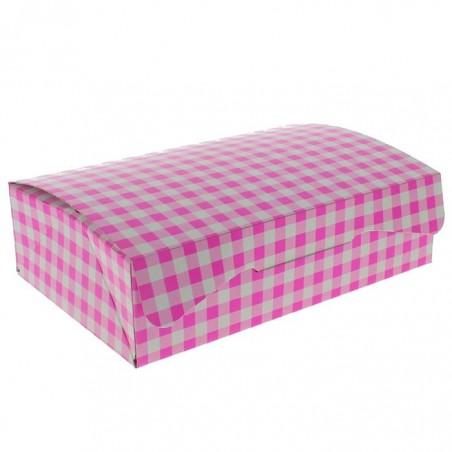 Gebäck Box pink 17,5x11,5x4,7cm 250g (20 Stück)