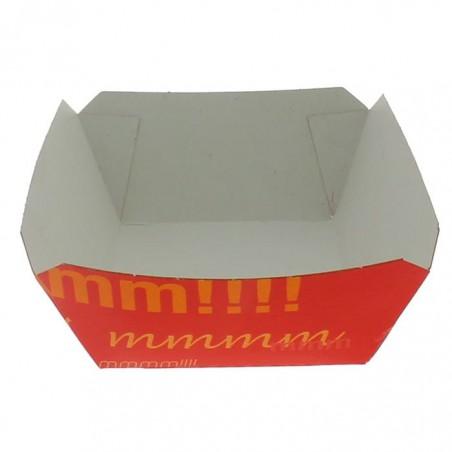 Pommesschale Pappe 250ml 9,6x6,5x4,2cm (25 Stück)