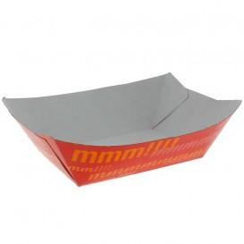 Pommesschale Pappe 350ml 10,6x7,3x4,5cm