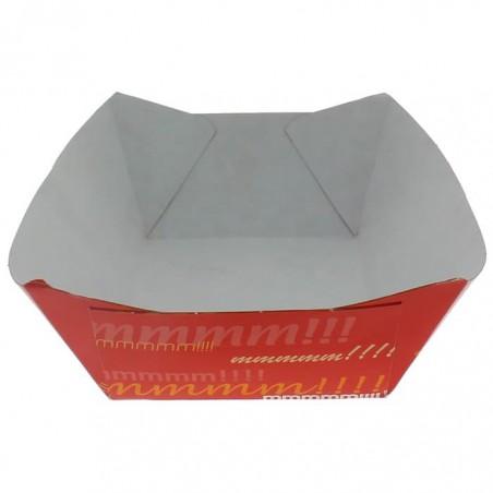 Pommesschale Pappe 350ml 10,6x7,3x4,5cm (25 Stück)