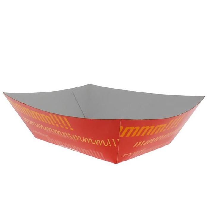 Pommesschale Pappe 525ml 12,1x8,1x5,5cm (600 Stück)