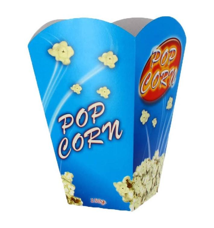 Große Popcorn Box 150gr. 8,7x13x20,3cm