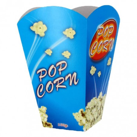 Große Popcorn Box 150gr. 8,7x13x20,3cm (250 Stück)