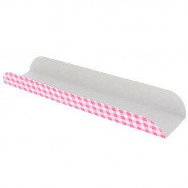 Pappschale pink offen (100 Stück)