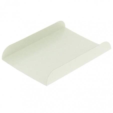 Pappschale weiß für Waffeln 13,5x10cm (1.500 Stück)