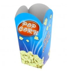 Kleine Popcorn Box 45gr. 6,5x8,5x15cm (25 Stück)