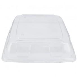 Plastikdeckel PET Transp. Tablett 31x31cm (5 Stück)