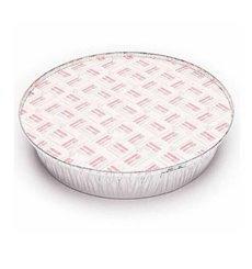 Pappdeckel für runde Aluschalen 1425ml (100 Stück)