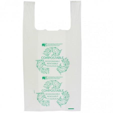 Hemdchenbeutel 100% bio- abbaubar 40x50cm (100 Stück)