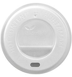 Deckel aus PLA für Pappbecher 8Oz/9Oz/12Oz Ø8cm (1000 Stück)