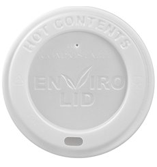 Deckel aus PLA für Pappbecher 12, 16, 22 Oz Ø9,0cm (1000 Stück)