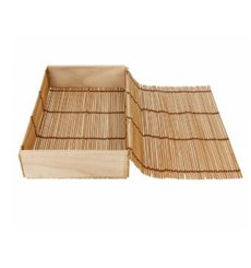 Verpackung aus Bambu für Sushi 23x13x4,5cm (1 Einh.)