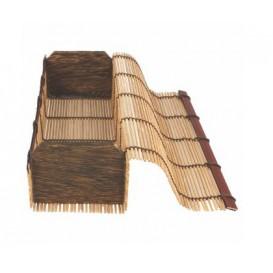 Schachtel aus Bambus für Sushi 23x8x6cm (24 Einh.)
