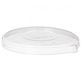 Plastikdeckel kompostierbar PLA für Schüssel 470,1360ml (50 Stück)
