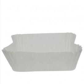 Papierkapseln Bäckerei für Backform 18,0x10,5x5,0cm (200 Stück)