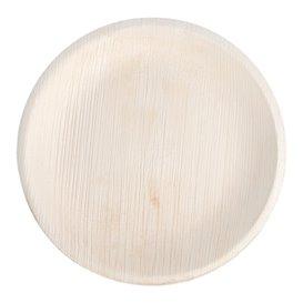 Palmblatt Teller Rund 18,0 cm (25 Stück)