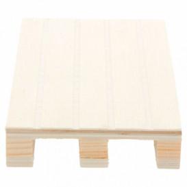 Mini Paletten aus Holz 13x8x2cm (40 Stück)