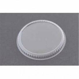 Plastikdeckel für Dessertbecher Transparent 8,3cm (20 Stück)