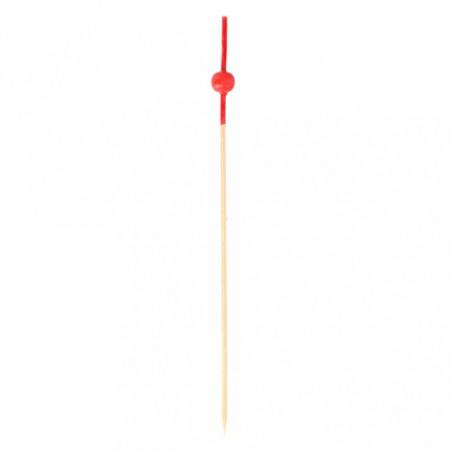 Bambusspieße Rote Kugel 120mm (10000 Stück)