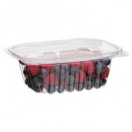 Plastickschale Kompostierbar PLA mit Deckel 355ml (300 Stück)