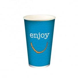 """Karton Glas für kalte Getränke 12 Unzen / 360 ml """"Enjoy"""" (1.000 Einheiten)"""