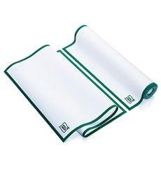 Weisses Küchenhandtuch mit Grünen Rand 40x64 cm P40cm (200 Stück)