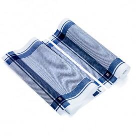 Küchenhandtuch Vintage Blau 40x64 cm P40cm (200 Stück)