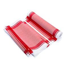 Küchenhandtuch Vintage Rot 40x64 cm P40cm (10 Stück)