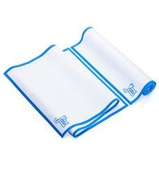 Weisses Küchenhandtuch mit Blauem Rand 40x80 cm P40cm (10 Stück)
