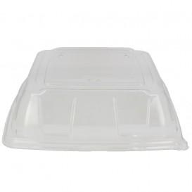 Plastikdeckel PET Transp. Tablett 27x27cm (5 Stück)