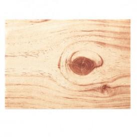 """Tischsets Wiederverwendbar """"Day Drap"""" Holz 32x45cm (12 Stück)"""