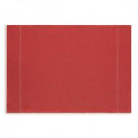 """Tischsets Wiederverwendbar """"Day Drap"""" Rot 32x45cm (72 Stück)"""