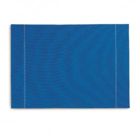 """Tischsets Wiederverwendbar """"Day Drap"""" Royal Blau 32x45cm (12 Stück)"""