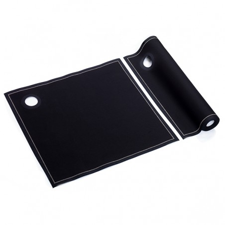 Deckel Für Flaschenkühler Schwarz 40x40 cm P40cm (12 Stück)