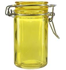 Einmachglas Gelb transparent 70 ml (32 Einh.)