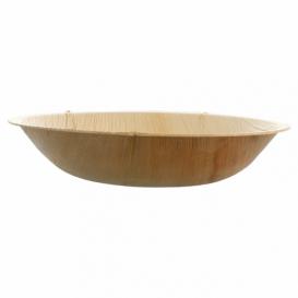 Palmblattschale rund 18x3,5cm (25 Stück)