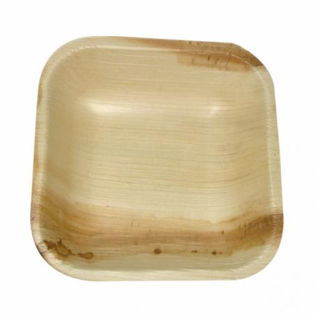 """Palmblatt Teller """"Mini"""" 10x10x2,5cm (25 Stück)"""
