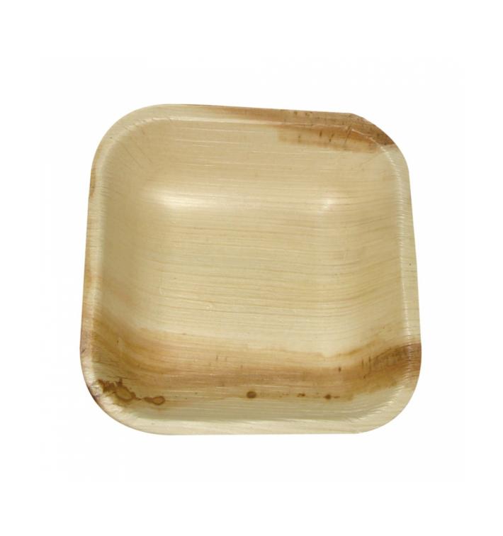 """Palmblatt Teller """"Mini"""" 10x10x2,5cm (200 Stück)"""