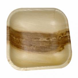 """Palmblatt Teller """"Mini"""" 11,5x11,5x1,5cm (200 Stück)"""
