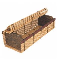 Schachtel aus Bambus für Sushi 23x8x6cm (1 Einh.)