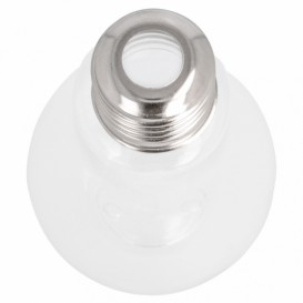 Glühbirnen-Flasche Transparent PET 200ml (25 Stück)