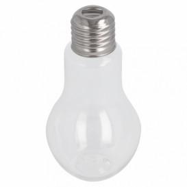 Glühbirnen-Flasche Transparent PET 400ml (200 Stück)