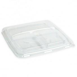 Plastikdeckel PP 3C Transp. für Schüssel 23cm (150 Stück)